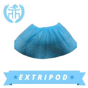 Quality Medical Blue waterproof Disposable Wholesale disposable rain shoe cover wholesale