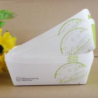 Quality Foldble Paper Box Packaging , Paper Box For Hot Dog And Snack Packaging wholesale