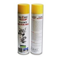 China Outdoor 650ml Acrylic Spray Paint Highway Acrylic Line Marking Paint on sale