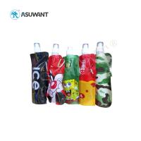 Quality Heat Sealed Mylar Plastic Liquid Storage Bags 110-130 Mic Customized Printing wholesale