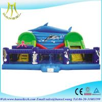 China Hansel fantastic inflatable pirate ship for commercial fun city on sale