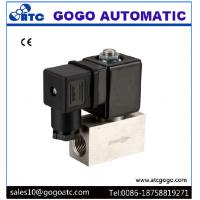 Quality 200 Bar High Pressure Solenoid Valve , Stainless Steel Solenoid Valves Air / Water wholesale
