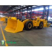 Quality Diesel Engine Tunnel Loader Load Haul Trailers For Underground Mining Transporter wholesale