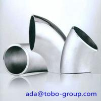 Quality A403 WP316 Stainless Steel Elbows SCH10 - SCH160 XXS 45 90 180 Degree wholesale