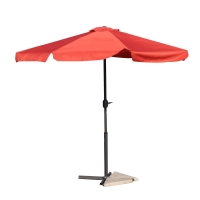 Quality SNUGLANE 2.7m Height Free Standing Patio Umbrella , Large Free Standing Parasol Red wholesale