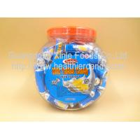Cheap Low Calorie Energy Roll Milk Candy Sugar Tablet Compressed Jar Packed for sale