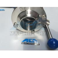 Quality 304/316L Sanitary Stainless Steel Clamped Butterfly Valve (ACE-DF-0V) wholesale