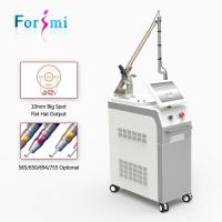 Quality 1064 532 nm Q-switch Nd yag Laser Tattoo Removal Machine for sale wholesale