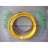 Quality High Stability Bundle Fan Out Optical Fiber Pigtail LC / APC 8 Core SM For LAN wholesale