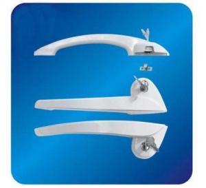 Quality Custom Arc ABS Freezer Door Handle Hardware for cooler with Lock 260mm wholesale