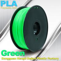 Quality Customorized Green 3mm PLA 3d Printer Filament  100% biodegradable wholesale