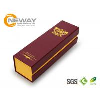 Quality Personalized Wine Packaging Boxes , Craft Beer Paper Gift Box 6 Bottles wholesale