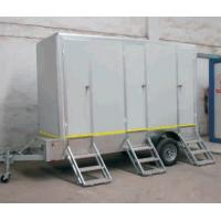 Quality mobile movable trailer toilet carvan/ Portable toilet with trailer carvans toilet wholesale