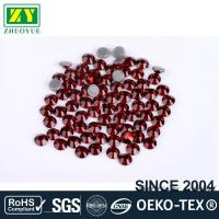 Quality Tiny Flat Hotfix Glass Rhinestones High Color Accuracy With Even Facets wholesale