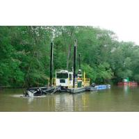 Quality jet suction type river sand gold mining vessel wholesale