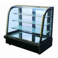China Fan Cooling Cake Showcase Chiller For Merchandising Food And Drink Items on sale