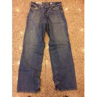 China China excess men brand jeans discount Abercrombie & Fitch denim pants surplus stock lots on sale