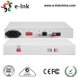 Quality 20km Optical Fiber Ethernet Media Converter Modem Protocol E1 Interface wholesale
