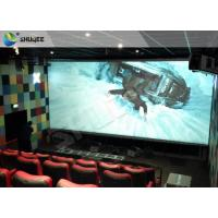 Quality 4D Home Theater Cinema System Theater Chairs With Software Hardware wholesale