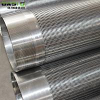 Quality Johnson Type Metal Water Well Screen Pipe Round Hole Shape 5800mm Length wholesale