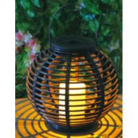 Quality Plastic Material Solar Garden Lights , Solar Outdoor Lighting With Natural Looking wholesale