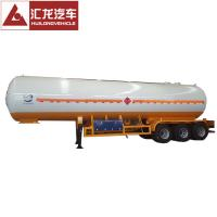 China 3 Axle 49.8 CBM Liquid Petroleum Gas Tank Trailer LPG Gas Tank on sale