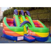 Quality 6x6m millenmium kids inflatable slide with obstacles N tunnel for outdoor parties wholesale