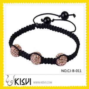 Quality Fashion Crystal Shamballa Bracelet wholesale
