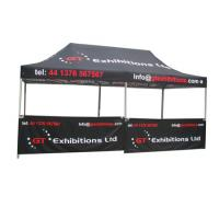 China Aluminum Structure Large Canopy Tent Custom Logo No Tools Required on sale