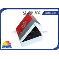 China Full Color Printing Rigid Paper Gift Box Paper Presentation Box With Insert Foam on sale