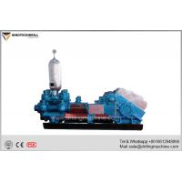 Quality 5mpa Rated Pressure Drilling Mud Pump 66 Round / Min Rated Speed 90kw Electric Motor Diesel  Power wholesale