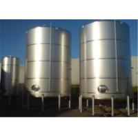 Quality Single Double Wall Jacketed Mixing Tank Stainless Steel Water Storage Tanks wholesale