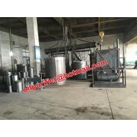 Quality Low cost waste engine oil distillation system, Enigne Oil Cleaning  recycling system, car oil decolorization plant wholesale