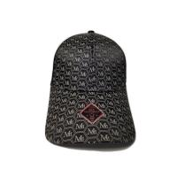 China Character Style Printed Baseball Caps Cool Style Sublimination Craft Logo Leather Fabric on sale
