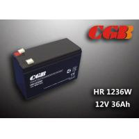 Quality 12V 7ah HR1236W Charge Ups Battery , Agm Longest Lasting Deep Cycle Battery wholesale
