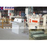Quality Steel Plate Straightening Machine , Electric Machine Equipped With The PLC wholesale