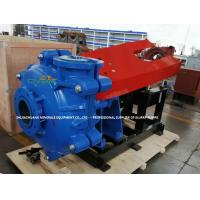 Quality Heavy Duty Hard Metal Lining Slurry Pumps with Zinc Coated Bolts wholesale