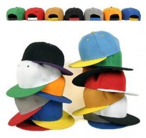 Quality Adjust Size Flat Visor Baseball Cap wholesale