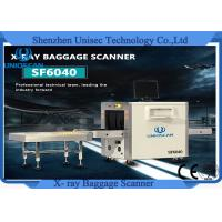 Quality Dual Energy Tube X Ray Baggage Scanner Machine For Bank , Hotel , Airport wholesale