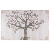 """China Big Size 43"""" x 27"""" Wall Decorative Handed Painted Canvas For Flowers And Trees on sale"""