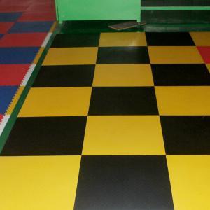 Cheap 3W Industrial Heavy Duty Flooring /Interlocking PVC garage flooring tiles flooring decking for sale