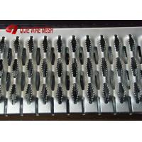 Quality Hot Dipped Galvanised Grip Strut Perforated Metal Mesh Plank Grating In Silver wholesale