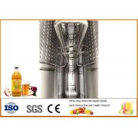 China Automatic Apple Cider Vinegar Fermentation Equipment Different Size ISO9001 on sale
