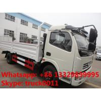Hot sale dongfeng 4*2 3tons-5tons light duty cargo truck, factory direct sale 5tons light duty dump cargo truck
