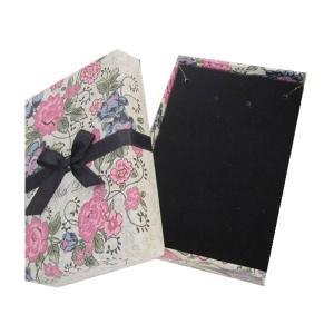 Quality Cardboard Velvet Jewelry Box Jewelry Packaging Box wholesale
