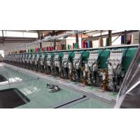Quality 24 Heads Flat Embroidery Machine With Automatic Thread Trimmer wholesale