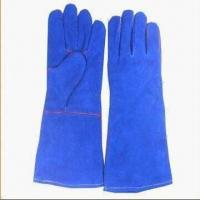 Quality Welding Gloves, Available in Blue Color wholesale