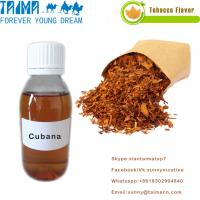 Buy cheap Best VG/PG base Liquid Concentrated Tobacco Flavourings most popular Cubana from wholesalers