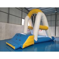Quality Floating Inflatable Water Park Games 0.9mm PVC Tarpaulin Material wholesale