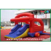 Quality CE/UL Certificated Inflatable Bounce With Inflatable Slide PVC Tarpaulin wholesale